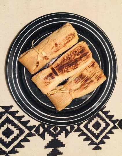 Tamales tatemados