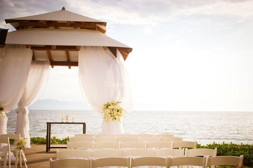 Hermoso Gazebo de bodas