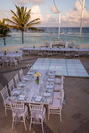 White terrace