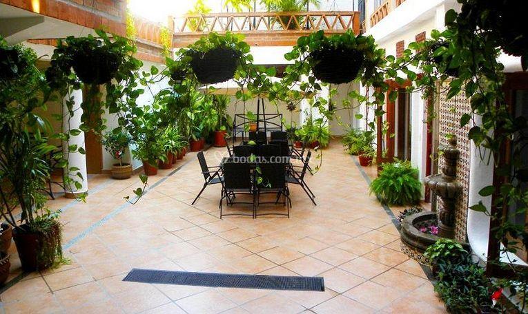 Hotel catedral vallarta for Terrazas internas
