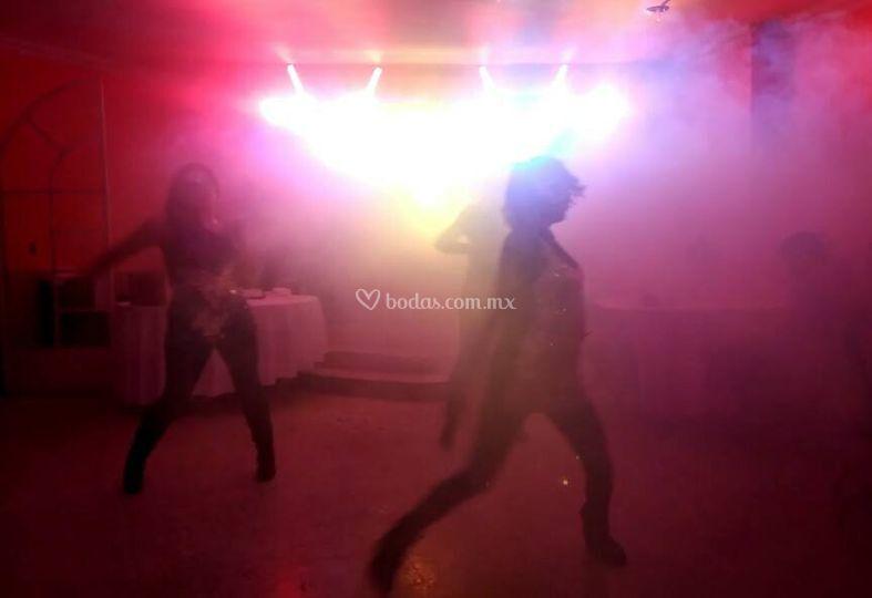 Baile de animadoras
