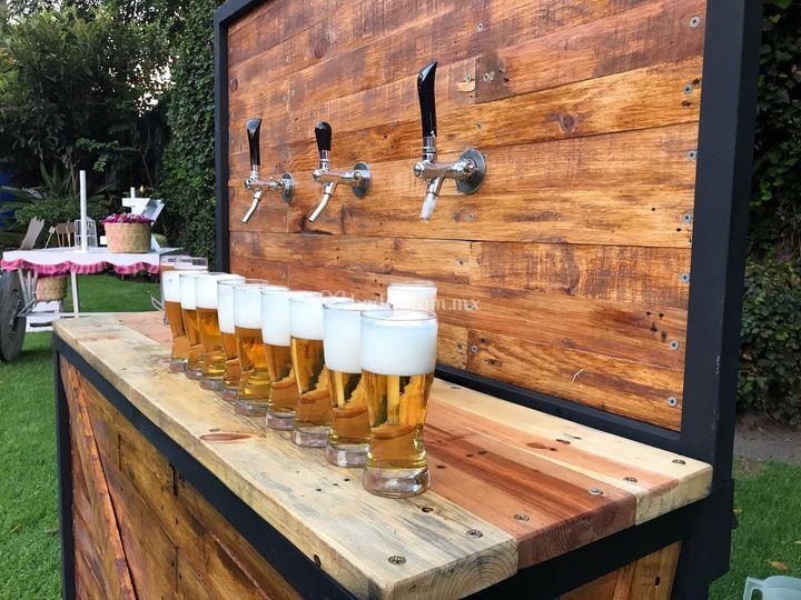 Barra de cerveza