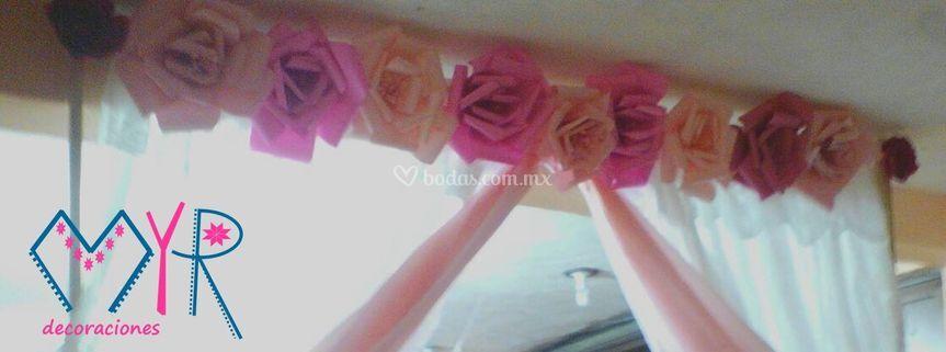 Flores para el arco