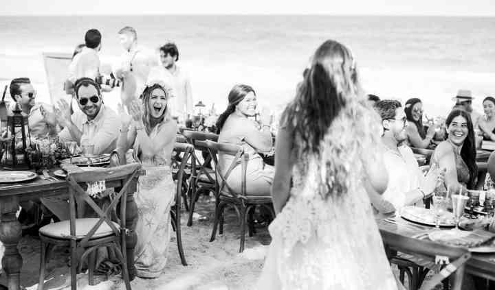 Fiesta sobre la playa