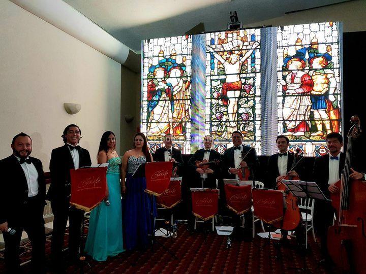 Quinteto y cuarteto de voces