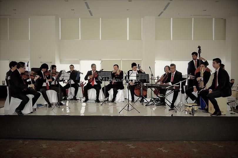 Pensando en grande orquesta