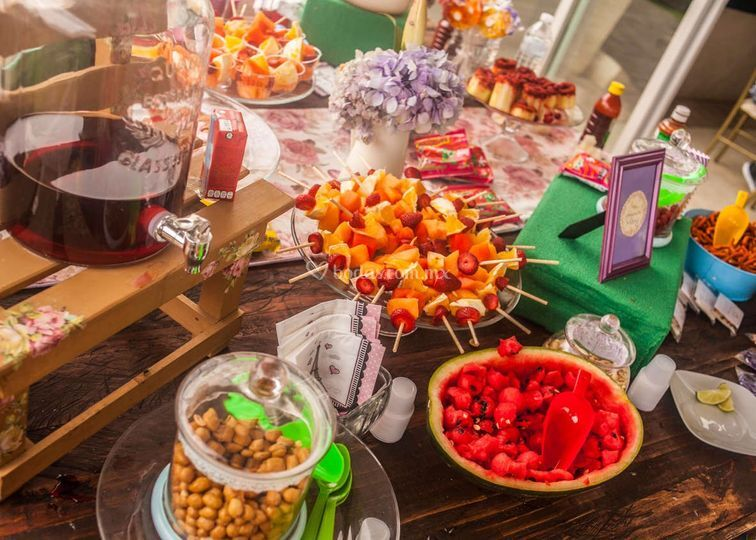 Mesa dulce combinada
