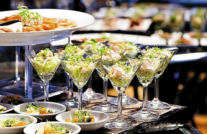 Banquete: menú formal en 3 tiempos