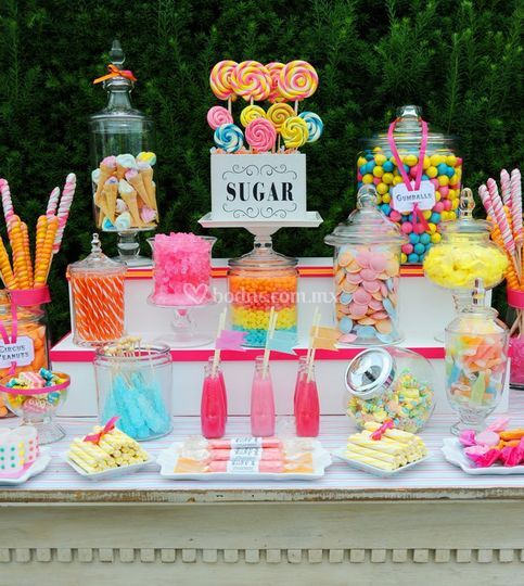Candy bar: dulces o postres