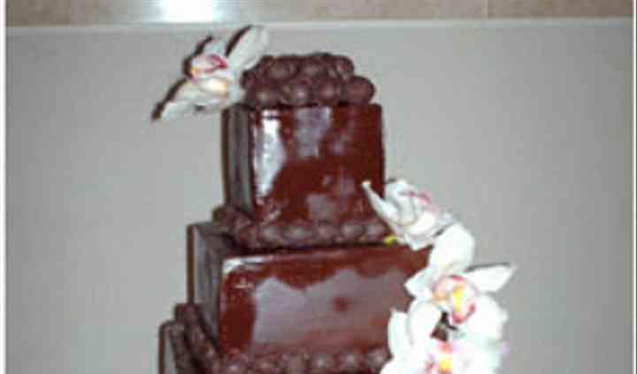 Pastel de chocolate con trufas