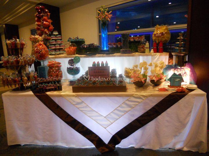 Mesas de dulces y postres