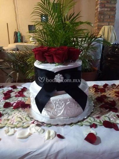Pastel boda civil