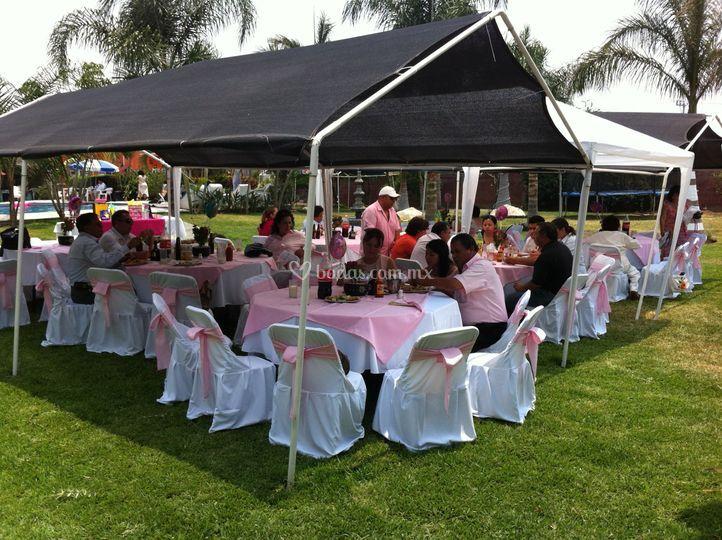 Fiestas en el Jardin