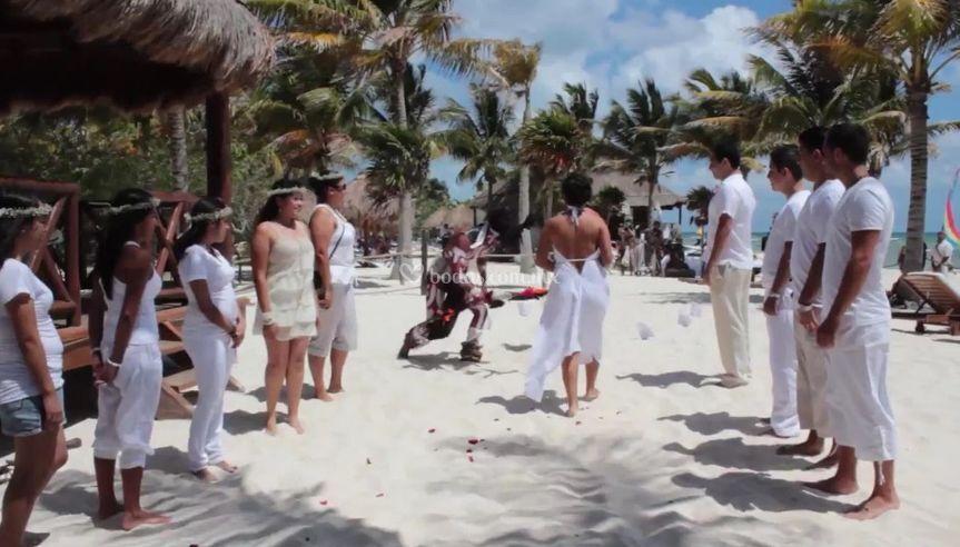 Ceremonia prehispanica