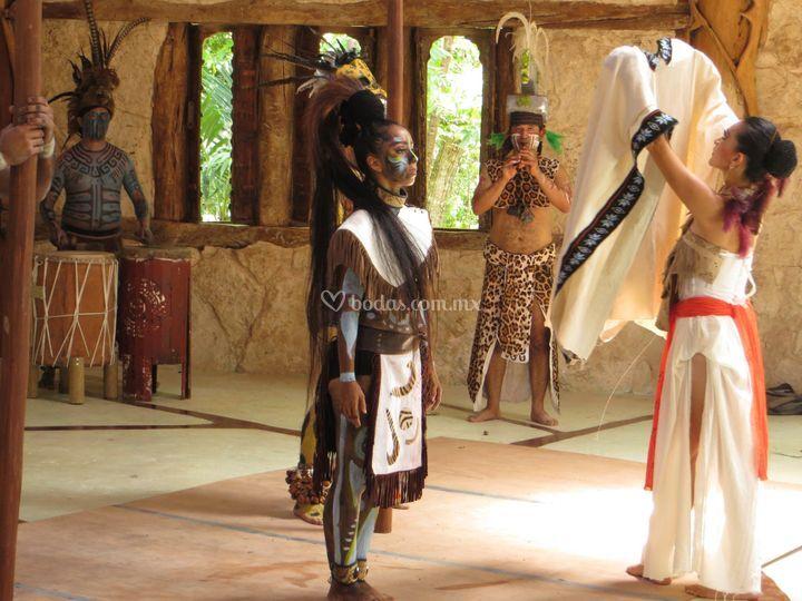 Ceremonia prehispánica