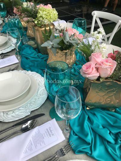 El color realza en tu boda