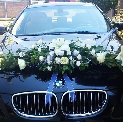 Ambientar los coches de la boda