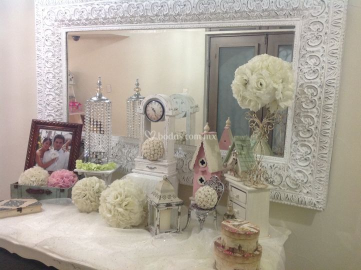 Mesas de decoración