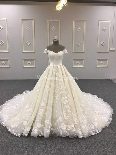 Vestido de lujo 2019