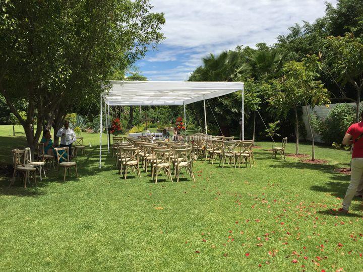 Area de evento religioso de jard n la isla foto 23 for Jardines 7 islas