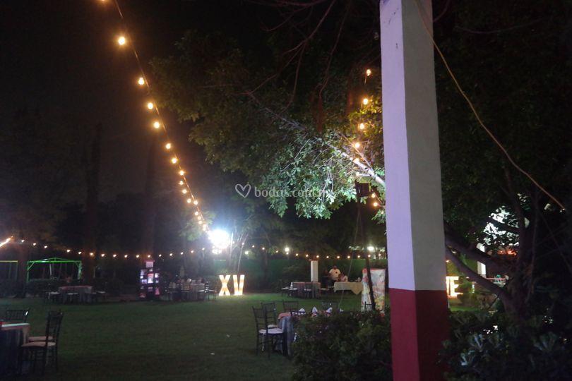 Celebración nocturna