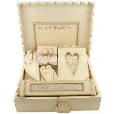Set de boda en caja