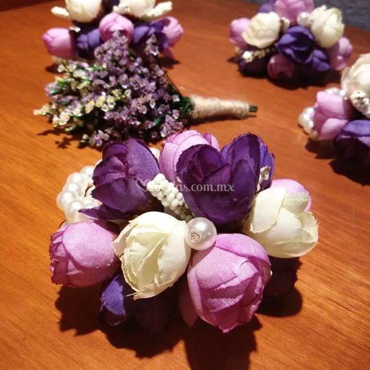 Morado y lila