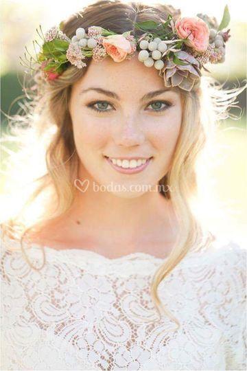 Hermosa novia makeup natural