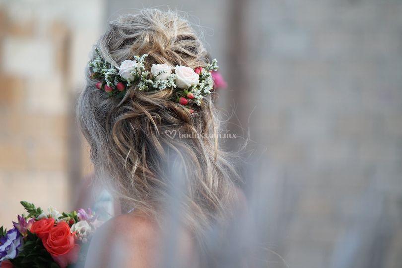 Giovanna Arca Makeup & Hairstyle