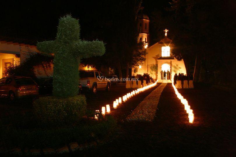 Capilla San Cayetano Noche