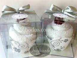 Recuerdos de cupcake para boda