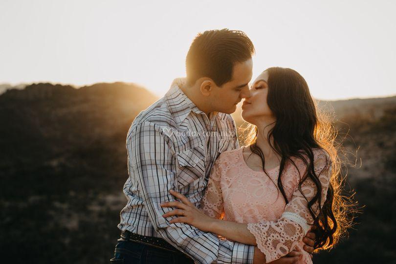 Pre-wedding atardecer