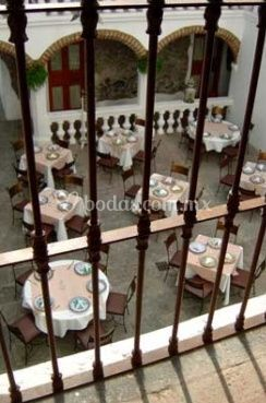 Vistas aerea del restaurante