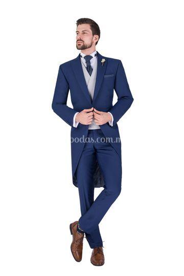 Jaquet azul cobalto