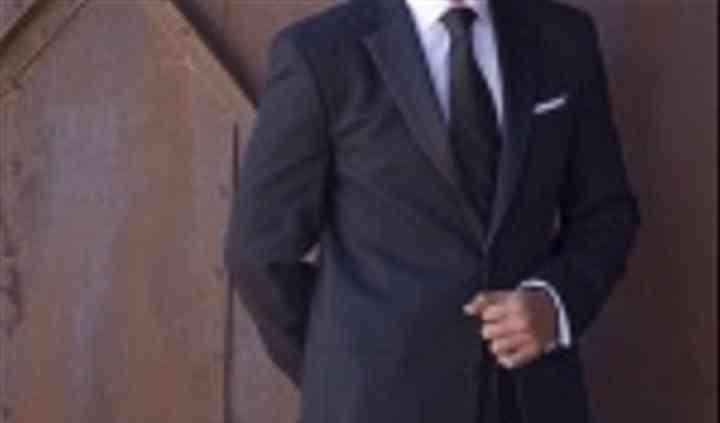 Smoking con corbata
