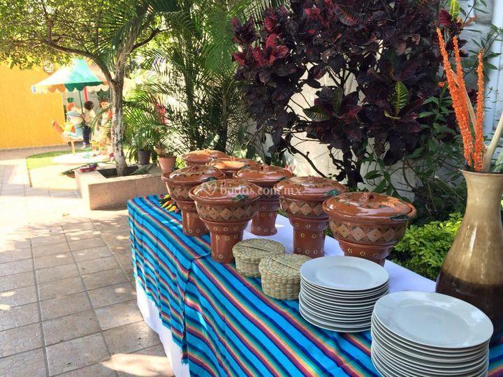 Cazuelas para buffet