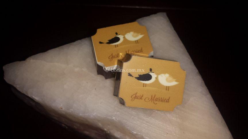 Chocolate personalizado