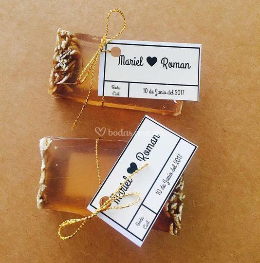 Avena y miel