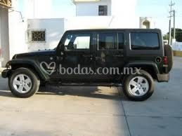 Jeep Sahara descapotable