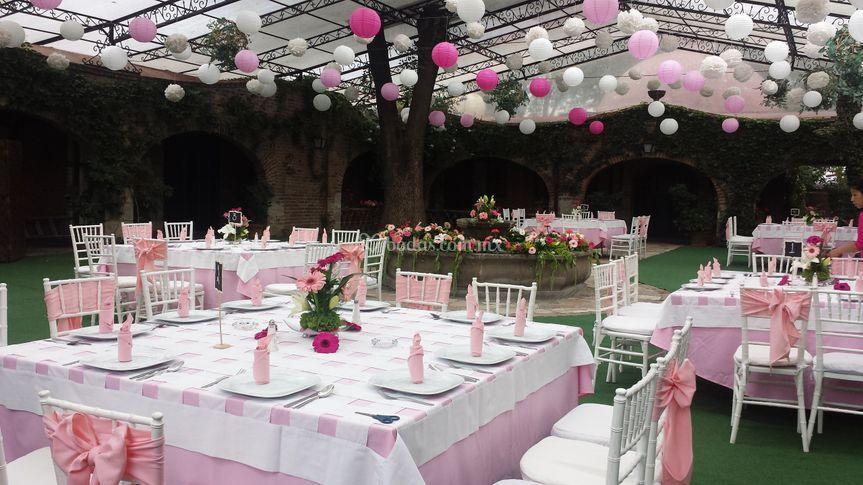 Xv Años Jardin Maja De Banquetes Tlalpan Foto 38