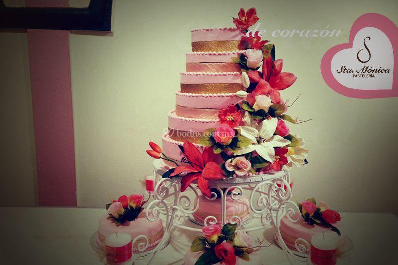 Encantador pastel