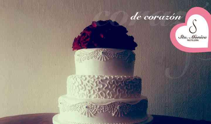 Seductor pastel de boda