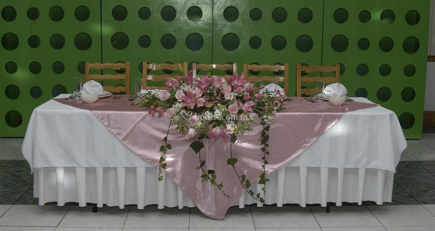 Mesa de novios