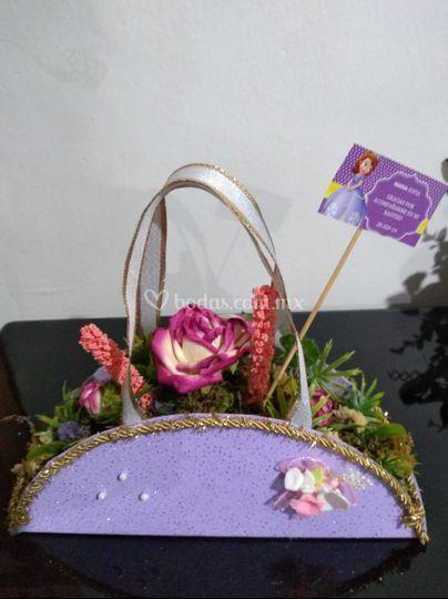 Canasta floral