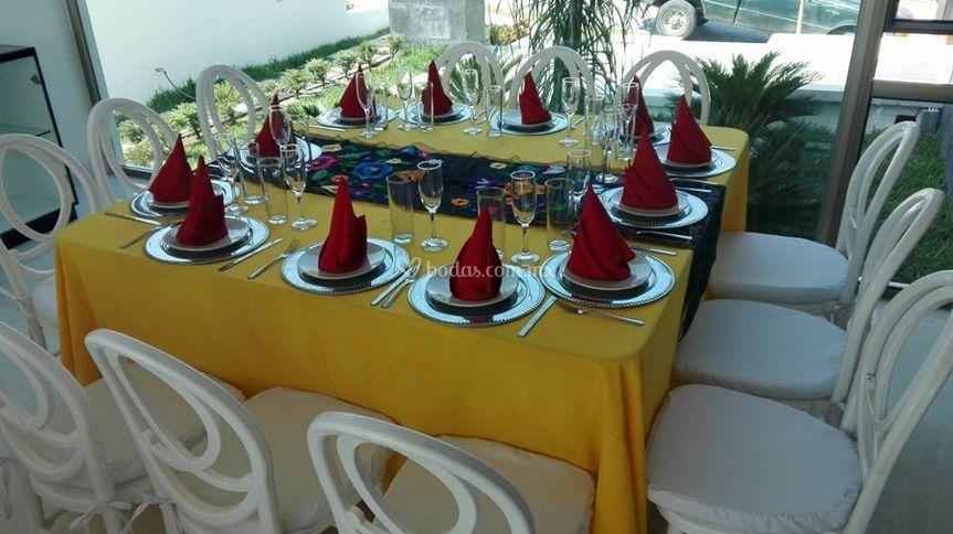 Alejandra Borges Banquetes y Eventos