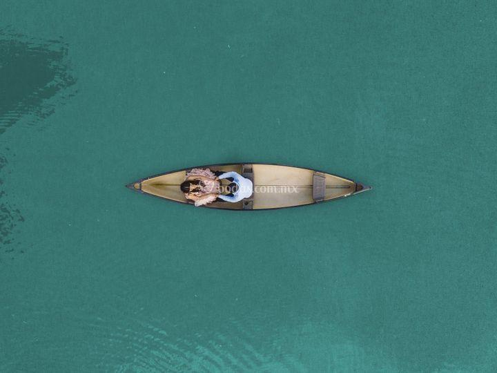 Paz en la barca
