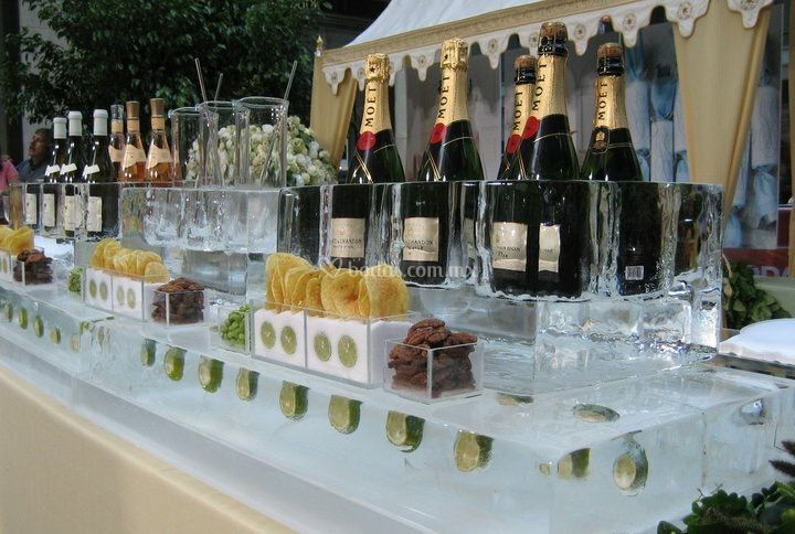 Display botellas