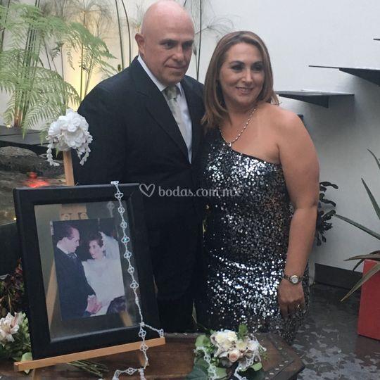 Moni y memo boda plata