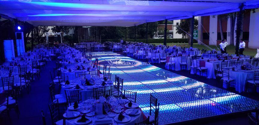 Pista de baile de LED