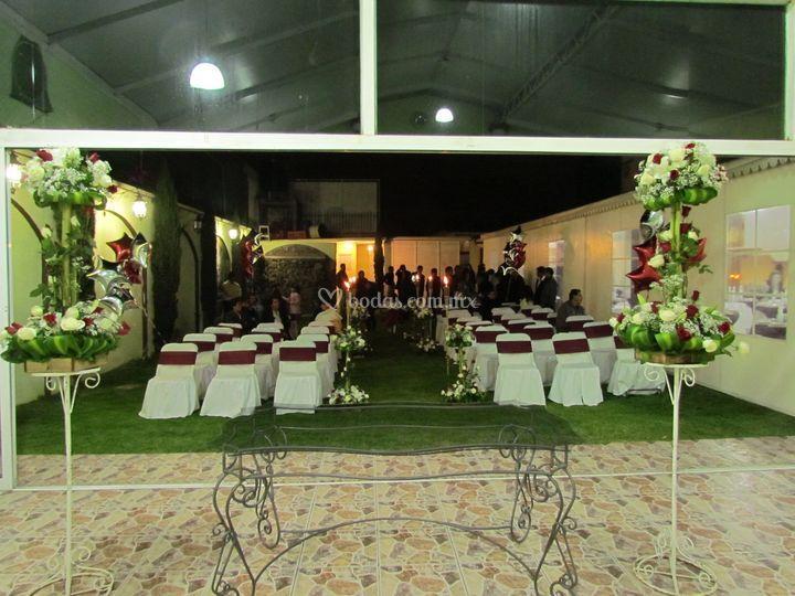 Salón Jardín Cipres